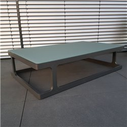 ICM garden table lounge table garden furniture Marseille aluminium anthracite large table
