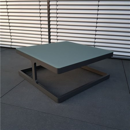 ICM garden table lounge table garden furniture Marseille aluminum anthracite small table corner table coffee table