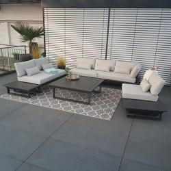 ICM garden lounge garden furniture aluminium Menton aluminium anthracite