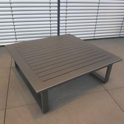 ICM mesa de jardín mesa de salón muebles de jardín St. Tropez aluminio antracita gran mesa al aire libre