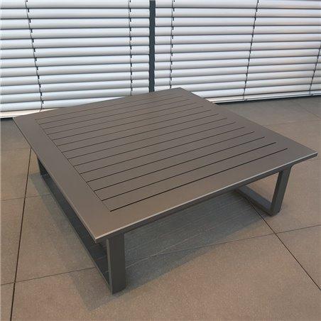 ICM table de jardin table de salon meubles de jardin Grenoble aluminium anthracite grande table