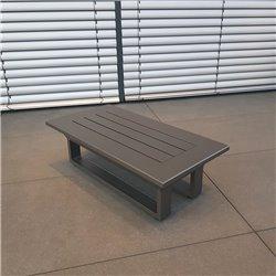 ICM garden lounge Grenoble coffee table side table small table garden lounge set module anthracite